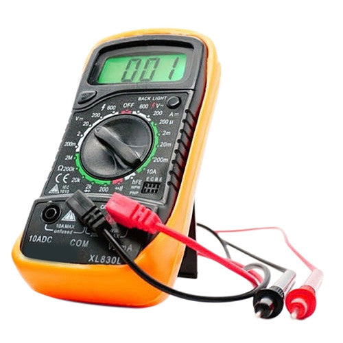 1 PC 2016 New  Handheld Counts With Temperature Measurement LCD Digital Multimeter Tester XL830L Without Battery E3382 p0.5