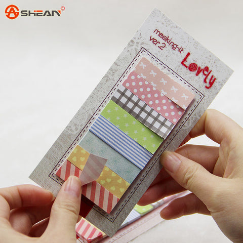 1 Lot Office Stationery Sticky Notes Korea Cute Kawaii 160 Pages Sticker Post It Bookmark Point It Marker Memo Sticker Paper - Blobimports.com