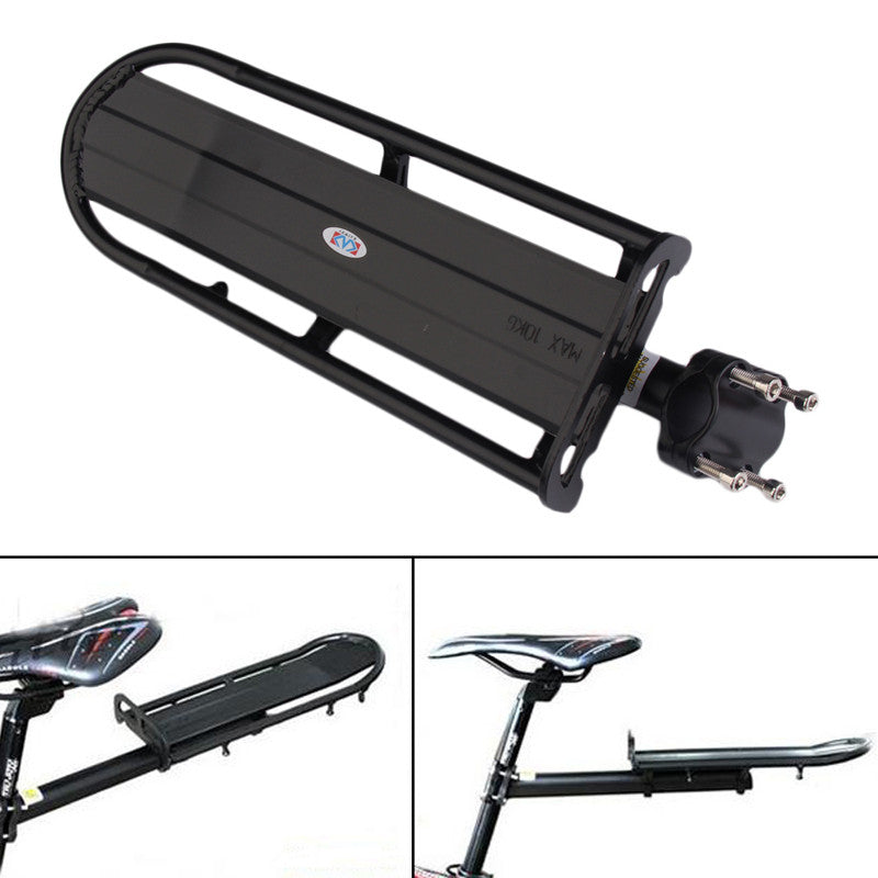 Aluminum Alloy MTB Bike Bicycle Rack Carrier Panniers Bag Carrier Adjustable Rear Seat Luggage Cycling Shelf Bracket BHU2