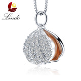 Zircon Shell Pearl Jewelry Pearl Pendant Necklace Freshwater Pearl Silver Choker Necklace Women Statement Pendant