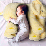 Hot Sale Elephant Soft Automotive Baby Sleep Pillow Baby Crib Foldable Bed Car Seat Cushion Portable Bedroom Bedding Set