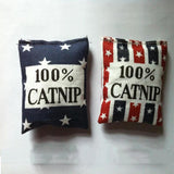100% linen catnip bags catnip toys different colors supply cat love it pet catnip Free Shipping - Blobimports.com