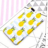 Cute Summer Watermelon Pineapple Delicious Fruit Coque Hard Plastic Phone Cases Cover For iPhone 7 7Plus 5 5S SE 6 6G 6S 6Plus
