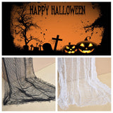 Halloween Decoration gauze Sheer Gauze Element Yarn Roll Black and White Atmosphere rendering Party Decor 025