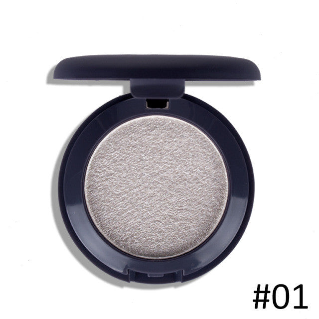 5 Colors Baked Eyeshadow Eye shadow Palette in Shimmer Metallic Eyes Makeup Brand EFU #7052-7056