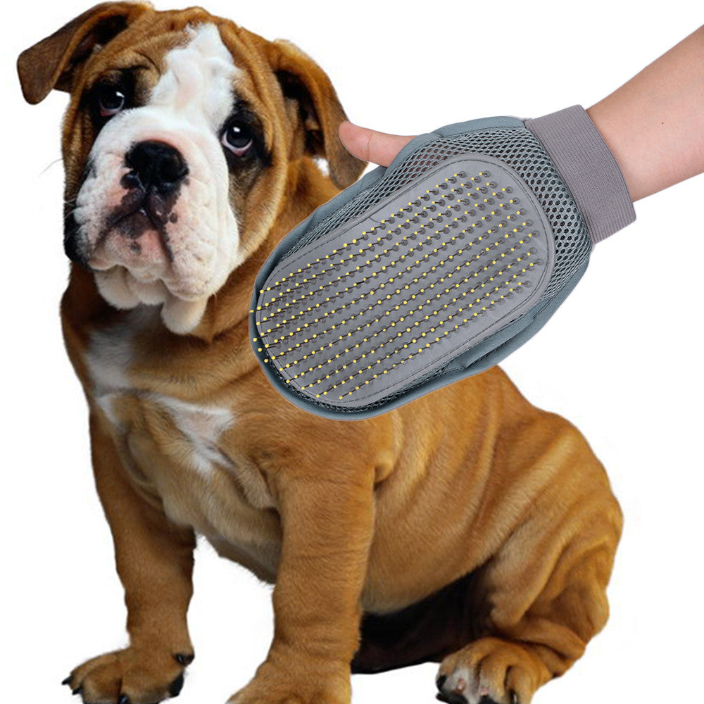 Pet Dog Cat Grooming Groom Glove Puppy Bath Mitt Brush Comb Dog Cleaning Massage Pet Health Supplies Grooming For Dog