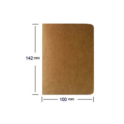 1pcs cowhide paper notebook blank notepad book vintage soft copybook daily memos Kraft cover journal notebooks free shipping1426