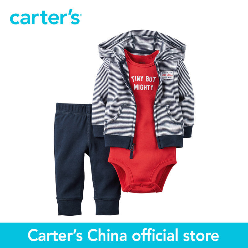 Carter's 3 pcs baby children kids Babysoft Cardigan Set 126G288, sold by Carter's China official store