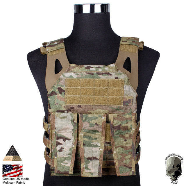 TMC N Jumper Plate Carrier NJPC Vest Camouflage Molle Vest Paintball Military Equipment Combat Gear Genuine Multicam TMC2135-MC
