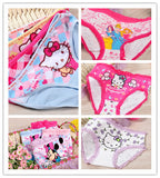 2016 Sale For Girls Underwear Briefs Panties Kitty Baby Kids Pants Wholesale High Quality Short Children Princesses 4pcs/lot Mix