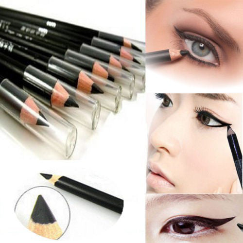 Special Offers Makeup Waterproof Eyeliner Soft Delicate Easy To Wear Long-Lasting Pen Eyeliner Pencil Not Blooming Black MK0151