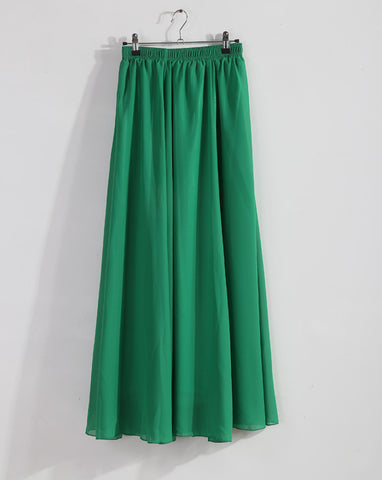 68d2968f621d ... Wholesale Women Chiffon Long Skirts Candy Color Pleated Maxi Skirts  2016 Spring Summer Skirts M L XL ...