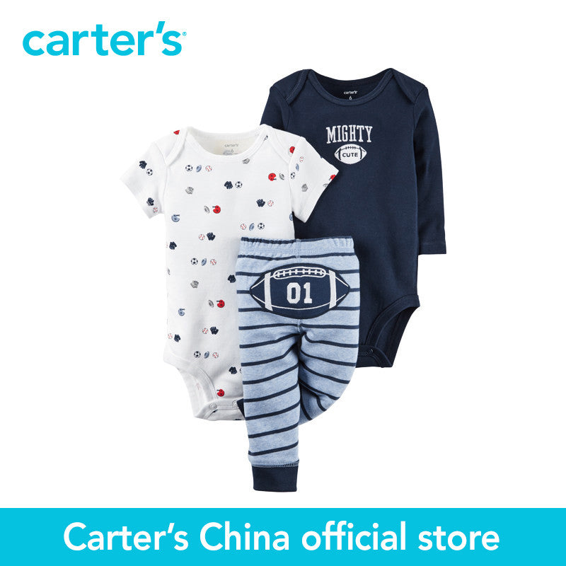 Carter's 3 pcs baby children kids Little Character Set 126G346, sold by Carter's China official store