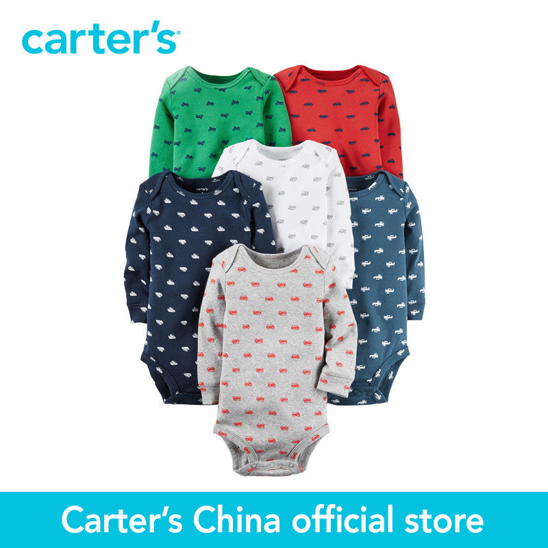 Carter's 6-Pack baby children kids Original Bodysuits 126G377, sold by Carter's China offcial store