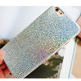 LACK Phone Case For iphone 6 6S 7 Plus Glitter Bling Snake Scales Laser Cases Fashion Shining Colorful Cover Luxury Soft Capa