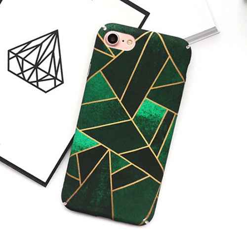 LACK Colorful Geometric Graphic Case For iphone 6 Case For iphone 6S 7 7 Plus Phone Cases Fashion Hard Cover Full Protect Capa