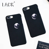 LACK Fashion Cartoon Space Moon Case For iphone 6 Case Cool Cosmic Series Cover Hard Frosted Phone Cases For iphone 6S 7 7 Plus
