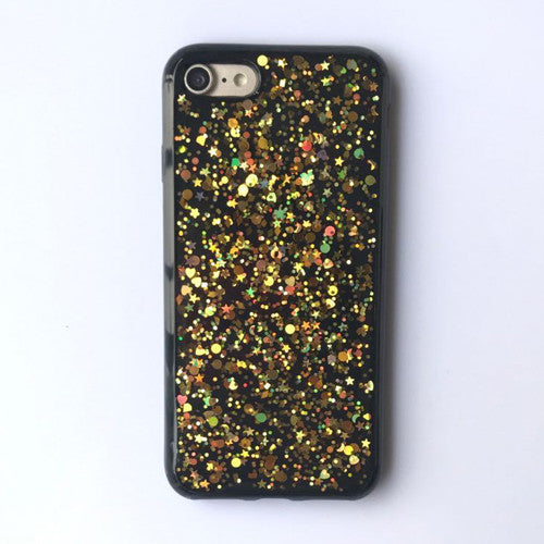 LACK Bling Case For iphone 6 Case Luxury Shining Paillette Star Cover Glitter Powder Capa Soft Phone Cases For iphone 6S 7 PLus