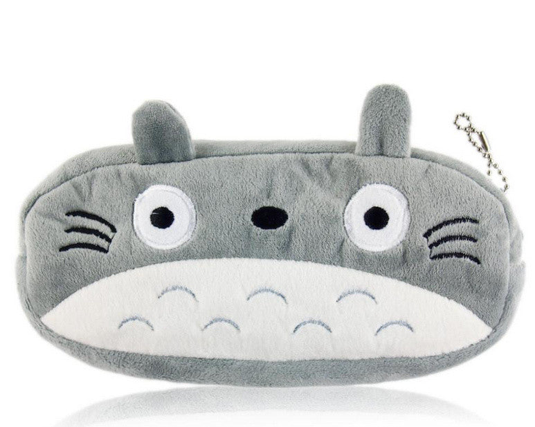 2015 Kawaii 20CM TOTORO School Kids Pen Pencil BAG Case GIFT Lady Girl's Cosmetics Purse & Wallet Coin Holder Pouch BAG H0014