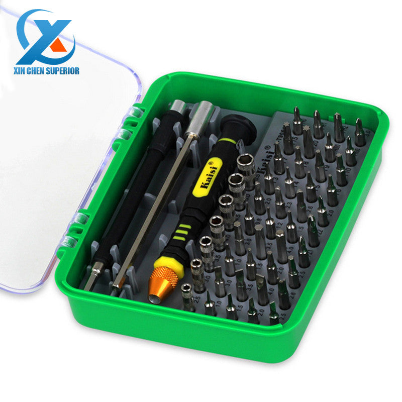 51 in 1 Steel Multi Tool Set Hand Tools Repair Tool Kit Precision Screwdriver Set Tool Box for Cell Phones Laptop for Russia