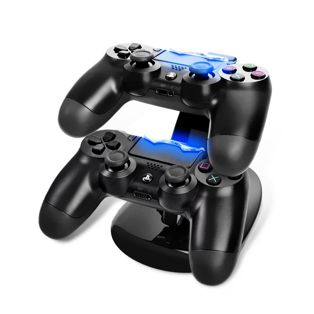 USB Charging Dock for OIVO PS4 Double Handle OIVO Dual USB Charge Dock Stand for Sony Play station PS4 Charger