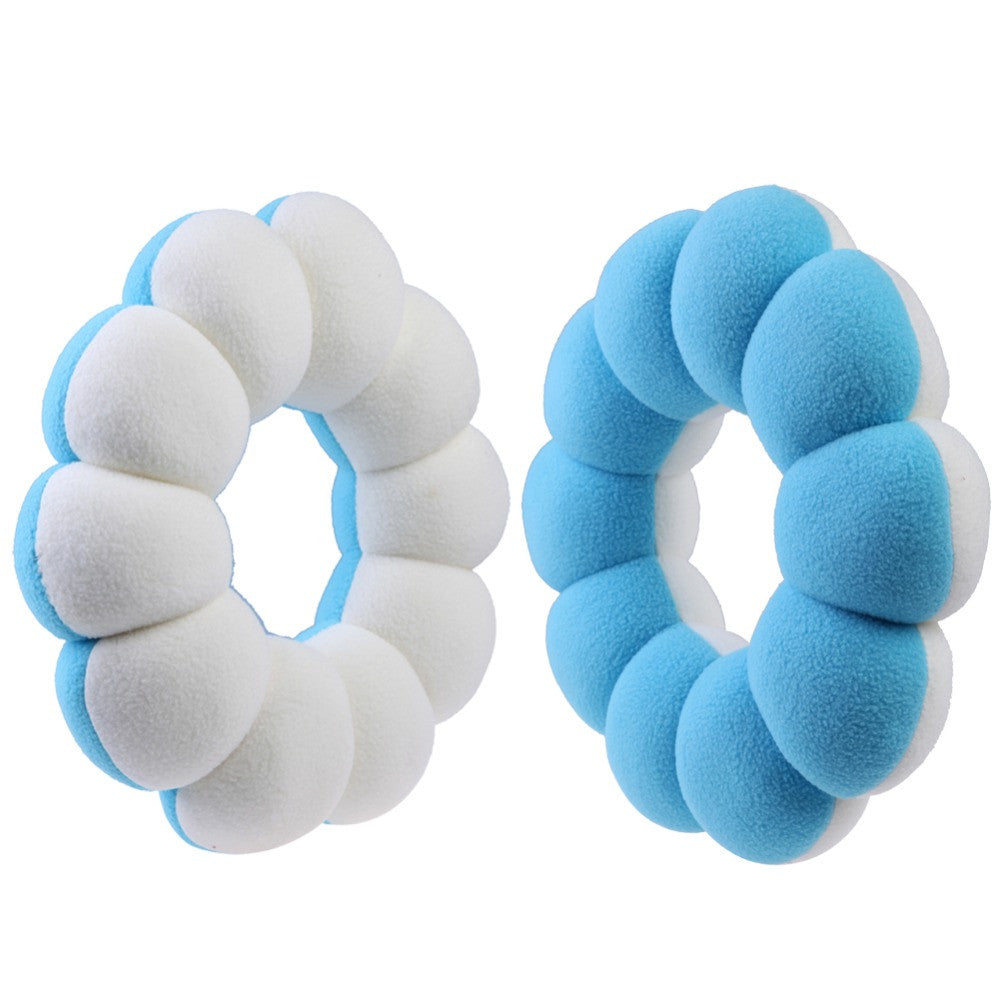 Super Soft Chair Pad Neck Pillow Doughnut Pattern Sleep Massage Cushion Home Living Sofa Car Cushion