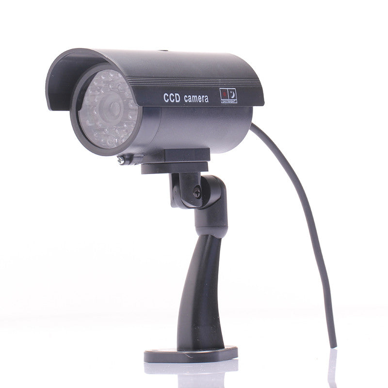 Waterproof Outdoor Indoor Fake Security Dummy CCTV Surveillance Camera Night CAM LED Light