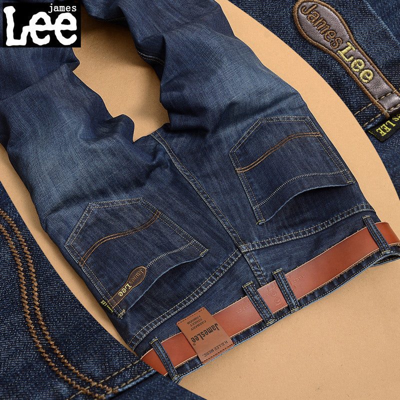 Blue black jeans male 100% Cotton Men's Jeans Famous Brand Trousers Jeans designer jeans men high quality denim pants AX6-1819