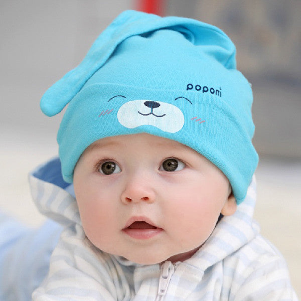 2523303f3f7 Cap Child Cartoon Caps For Newborns Unisex Toddler Baby Boy Girl Hats  Infant Cotton Soft Cute