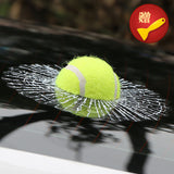 ETIE Car Styling Baseball Funny Car Stickers and Decals Tennis Hits Car Window Sticker Design Motorcycle Accessories Auto Audi