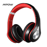 Mpow Bluetooth Headphones Noise Cancelling Wireless Over-ear Stereo Foldable Headphone Ergonomic Design EarmuffsBuilt-in Mic