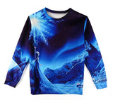 Fashion 2015 women's tracksuits Galaxy Space Geometric Printed Hoodies 13 Patterns