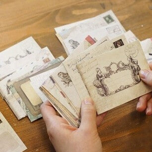 12 pcs/lot 12 Designs Paper Envelope Cute Mini Envelopes Vintage European Style For Card Scrapbooking Gift Office Free shipping