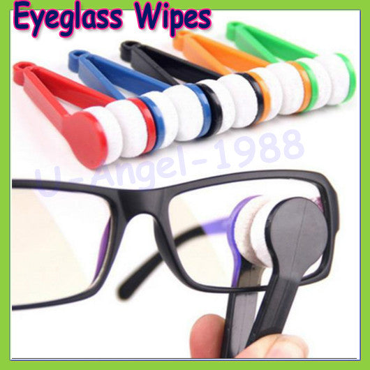 2pcs Mini Microfibre Glasses Cleaner Microfibre Spectacles Sunglasses Eyeglass Cleaner Clean Wipe Tools Dropship
