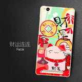 Phone case For Xiaomi Redmi 3 5-inch Cute Cartoon High Quality Painted TPU Soft Phone Case Silicone Skin Back Cover Shell