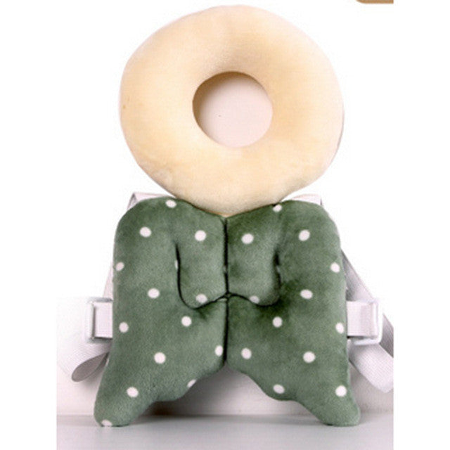 2016 New 8 colors Baby Head protection pad Toddler headrest pillow baby neck Cute wings nursing drop resistance cushion