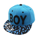 Hot Sale New Spring Summer Baby 3D Letter BOY cap boy Adjustable Baseball Cap 3-8 Years Kids Snapback Hip-Hop Hats Sun Hat C-12