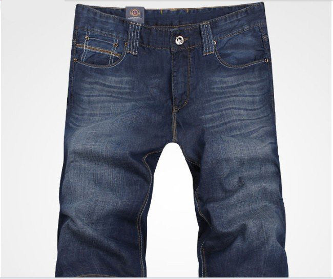 2016 short jeans men  summer jeans cotton jeans size 29-38 free shipping blue jeans