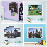 popular classical game Kids room decor boy gift nursery wall stickers wall decals baby room home decoration mural 2.5