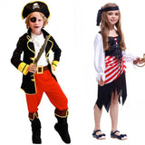 kids boys pirate costumes/cosplay costumes for boys/halloween cosplay costumes for kids/children cosplay Girl costumes
