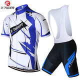 X-Tiger Abstract Summer Cycling Clothing/Quick-Dry Cycle Clothes/Race Bicycle Wear Ropa Ciclismo/MTB Bike maillot Cycling Jersey