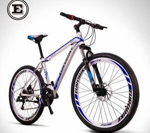 EUROBIKE Speed road mountain bike 21speed 26 inch double disc bicicleta high quality tire complete bike suspension bicycle