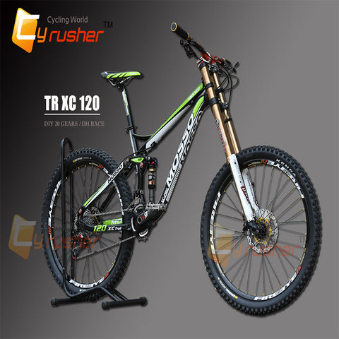 ALL MOUNTAIN DOWNHILL FREERIDE BIKE 20 Speeds Complete DH Bicycle