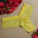New Fashion Women Lace lace thong 7Colors Low Waist One Size V-string Briefs Panties Thongs G-string Lingerie Women Underwear