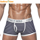 Newly Comfortable Panties Men Male Underwear Men's Boxer Underwear Sexy Striped Cotton Man Underwear Boxer Fringe Underpants