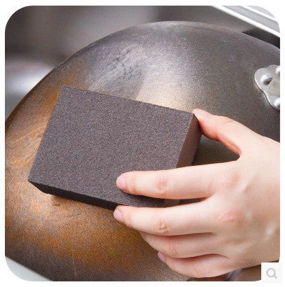 Kitchen Magic wipe clean Nano-diamond cleaning pot Deferrization Coke stains sand sponge 20g