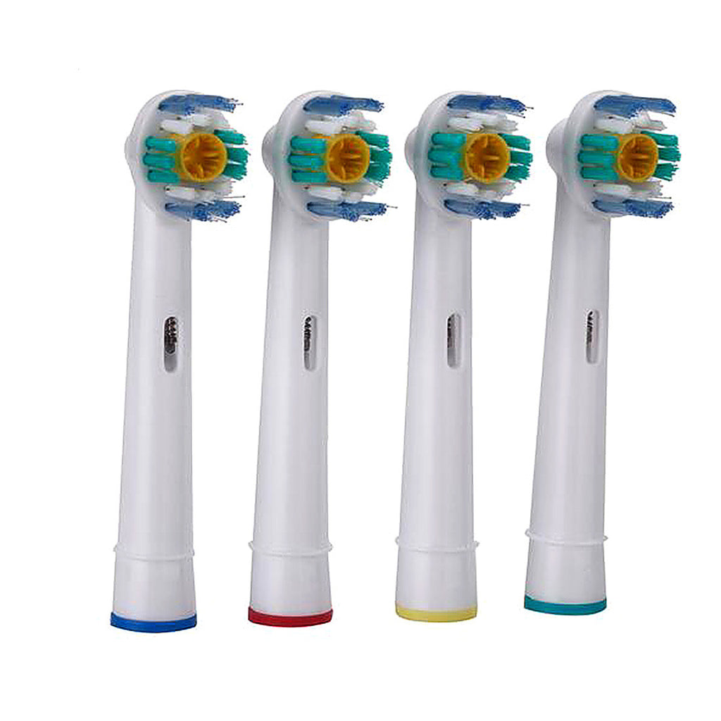 Hot 4pcs/set Oral Hygiene EB-18A Rotary B Electric Toothbrush Heads Replacement for Oral Soft Bristles Tooth brush heads