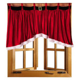 1 PC Door Window Drape Panel Christmas Curtain Decorative Home Free shipping A10