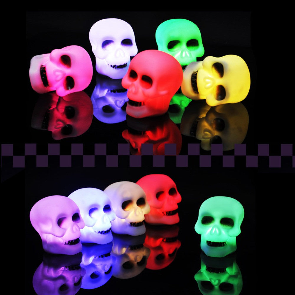 Hot New Halloween Lamp LED Skeleton Decoration Party Bedside Prop Table Light Free shipping