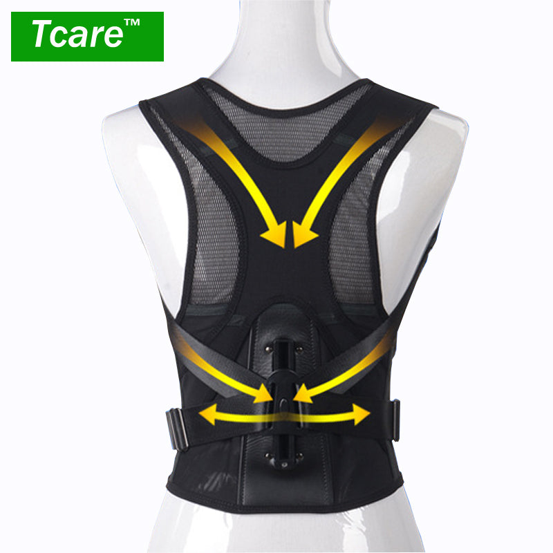 Tcare Posture Correction Waist Shoulder Chest Back Support Brace Corrector Belt for Women Men Size S/M/L/XL/XXL Health Care